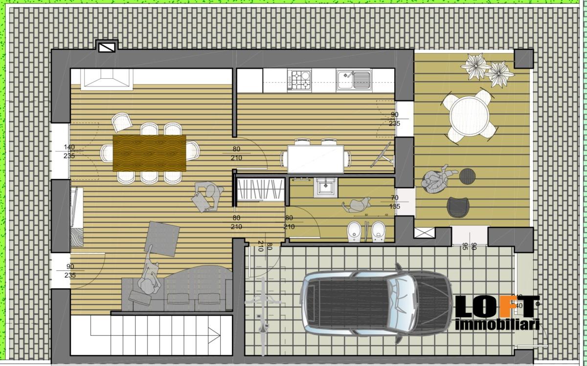 Casa Semindipendente Mestrino PD1016878